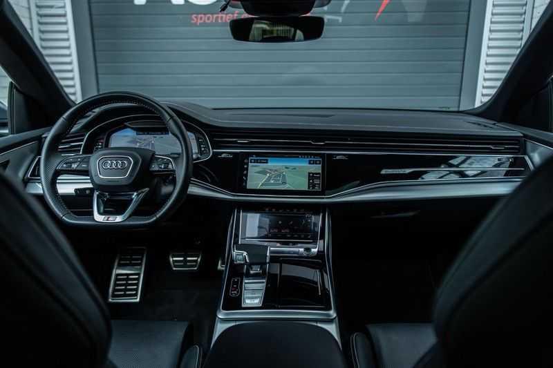 Audi SQ8 Quattro Pro Line S , 435 PK, Black/Optic, Head/Up, Pano/Dak, Valcona/Leder, S/Sportstoelen, 2020, 25DKM!! afbeelding 4