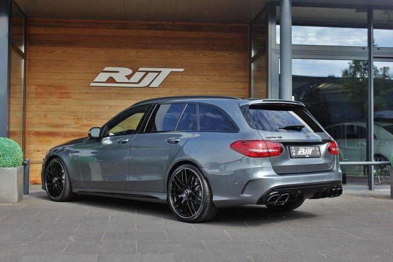 Mercedes-Benz C-Klasse C63 AMG 4.0 V8 Estate 476pk! **360°Camera/Burmester/Spoorassistent** afbeelding 5