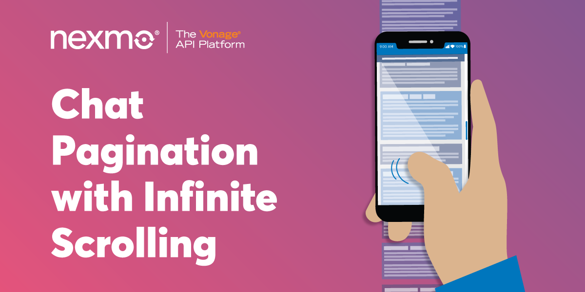 Chat Pagination with Infinite Scrolling