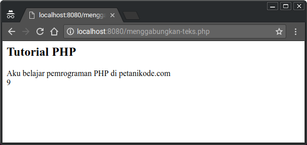 Text Merging in PHP