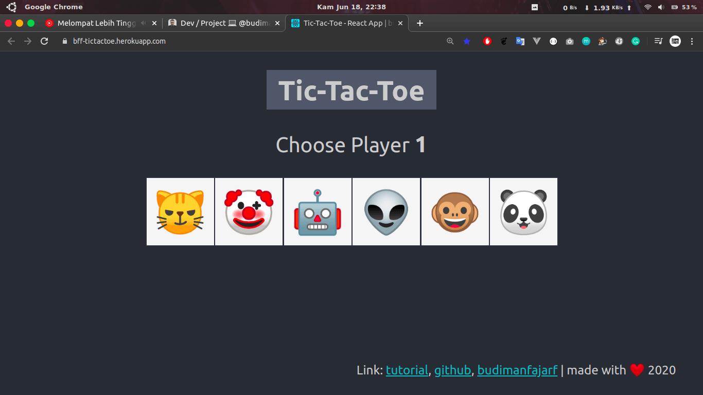 React Tictactoe