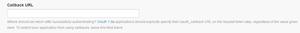 Twitter Application Managementの個別URLのアプリ設定画面
