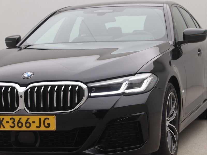BMW 5 Serie Sedan 520i High Executive M-Sport Automaat afbeelding 22