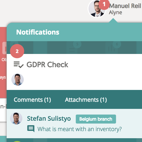 Realtime notifications