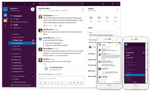 Use Slack On Different Devices