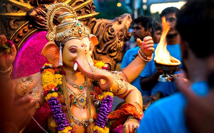 Indian religious festival