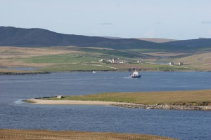 Crossing to Unst, and Belmont House