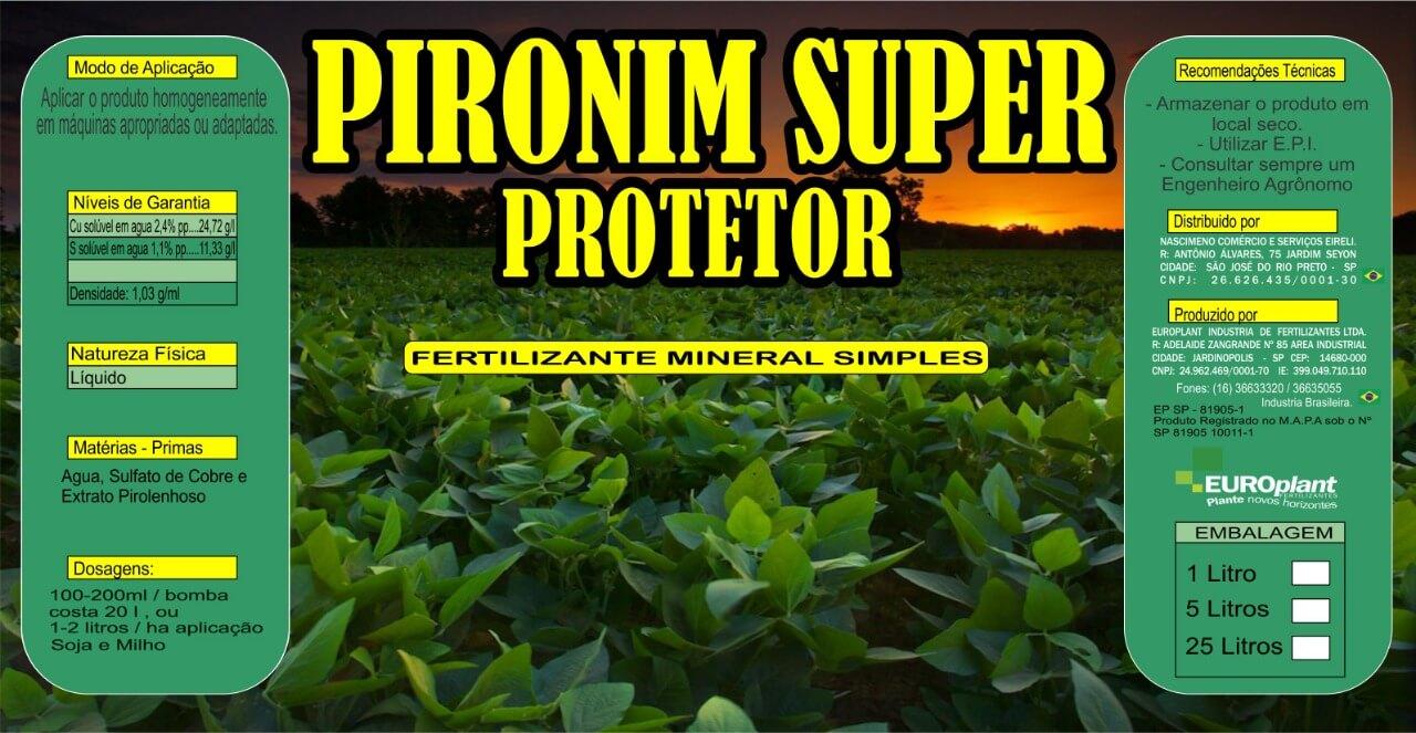 Produto Pironim Super Protetor