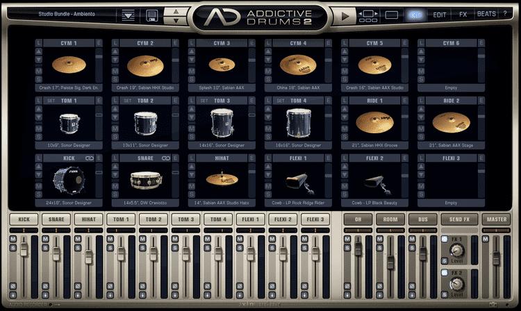 Addictive Drums 2 plugin