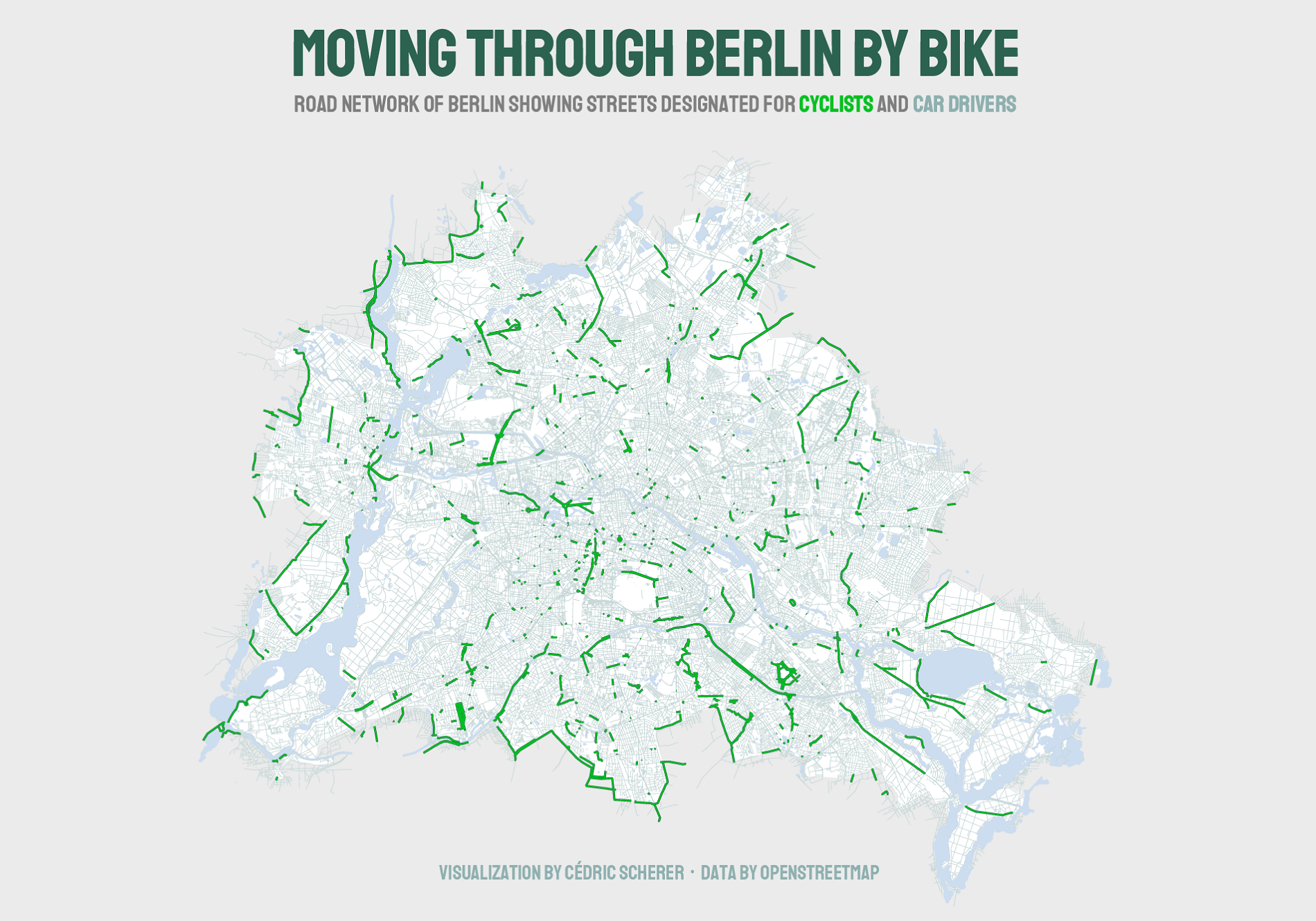 Cycling Paths of Berlin