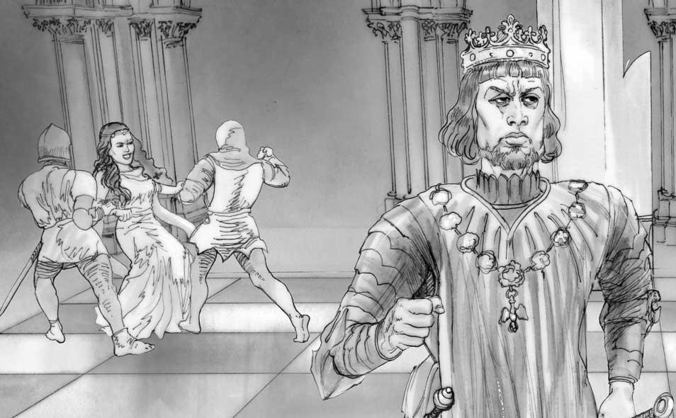 Atoleiros Battle animatic - Leonor Teles de Meneses expelled