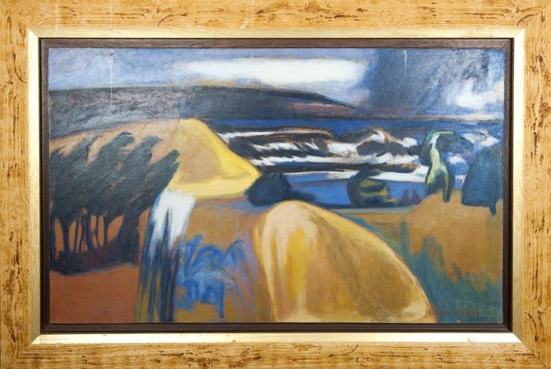 Abreu Bastos - oleo tabla - 60x100 cm · óleo/tabla