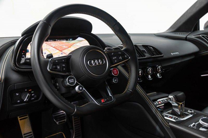 "Audi R8 Exclusive 5.2 FSI V10 Plus 610pk Quattro Volleder+Memory Carbon-Int+Ext MagneticRide VirtualCockpit B&O Keramisch Keyless Navi/MMI 20"" Camera Pdc afbeelding 20"