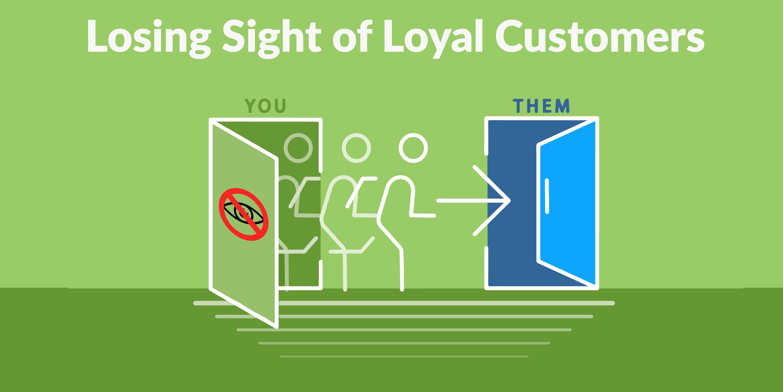 Losing Sight of Loyal Customers
