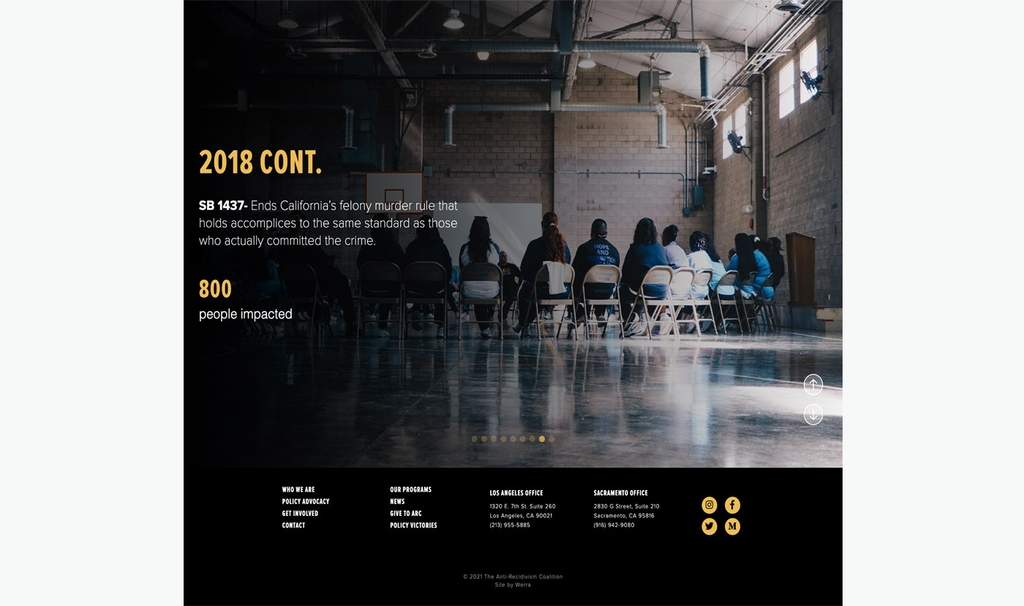 ARC policy slideshow desktop screenshot
