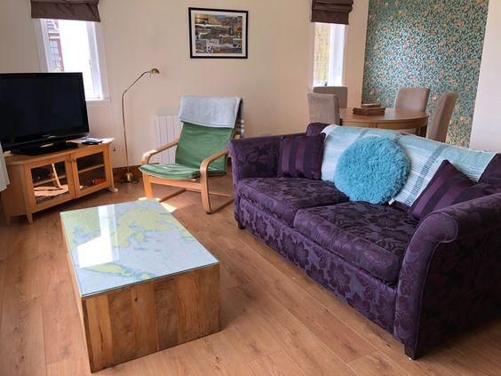 Fingal Cottage Living Room