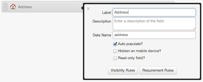 Auto-Populating Address Fields