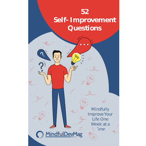 Grow yourself into the person you want to be with the best set of 52 questions. Tackle one each week with the free online tool or get the paperback or ebook with all questions at once.
