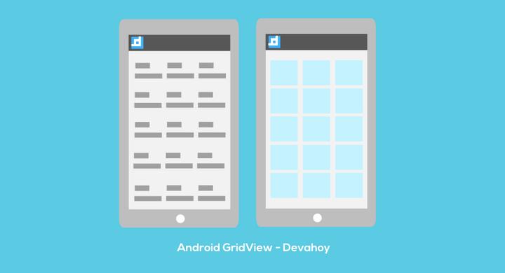 การทำ GridView บน Android แบบง่ายๆ