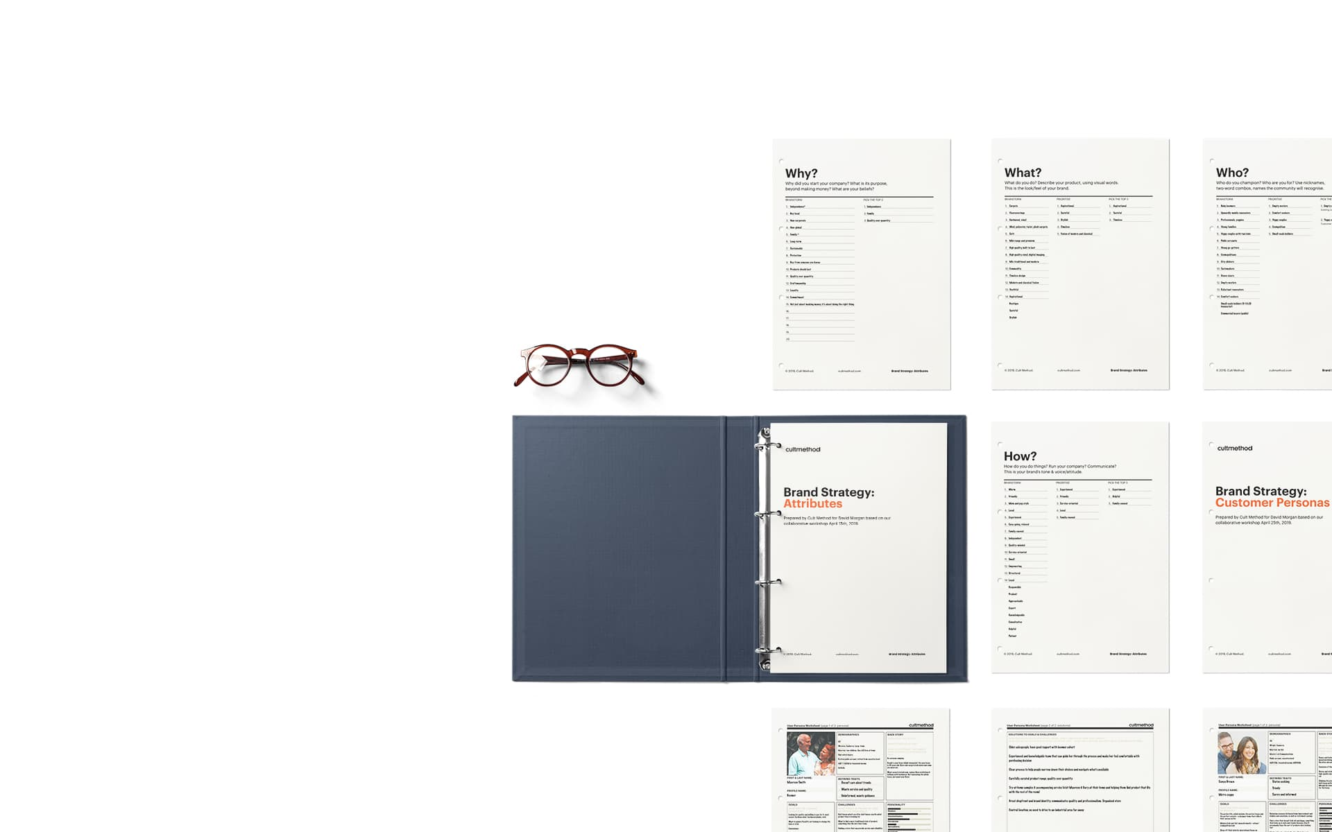 Brand strategy documents