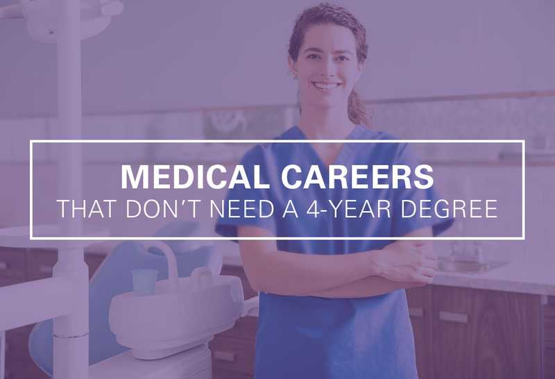 Top 13 Health Care Jobs That Don't Need A 4-Year Degree