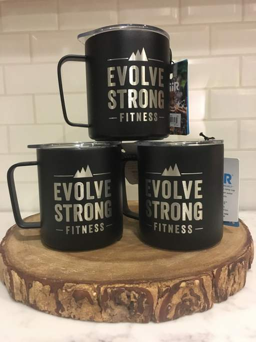 EVOLVE Strong Fitness insulated Miir camp mug