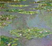 Claude Monet's 1905 work Nympheas