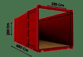 TrawlFeet - Open Top Container \<