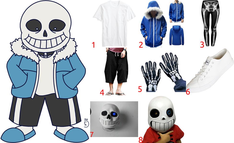 Sans Costume for Cosplay & Halloween
