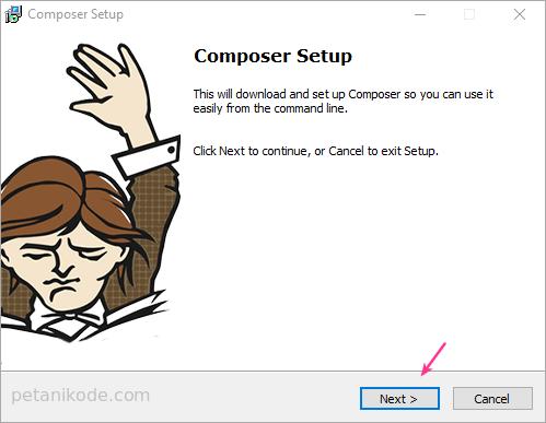 Instalasi Composer