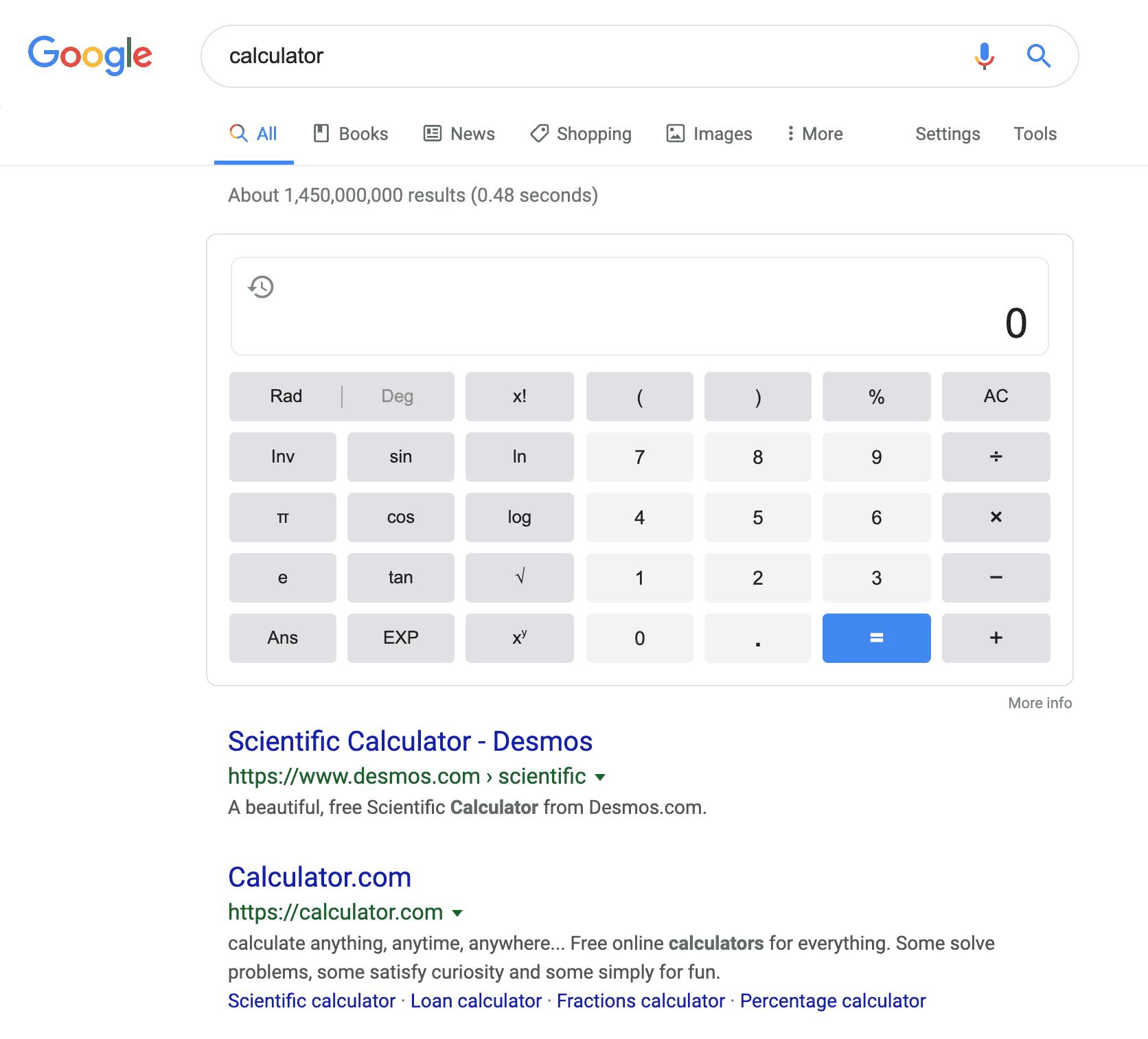 SERP Features Calculator