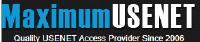 Maximum Usenet Review logo