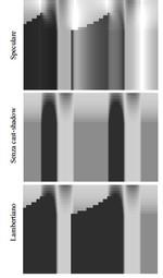 Percezione di superfici e illuminazione dinamica
