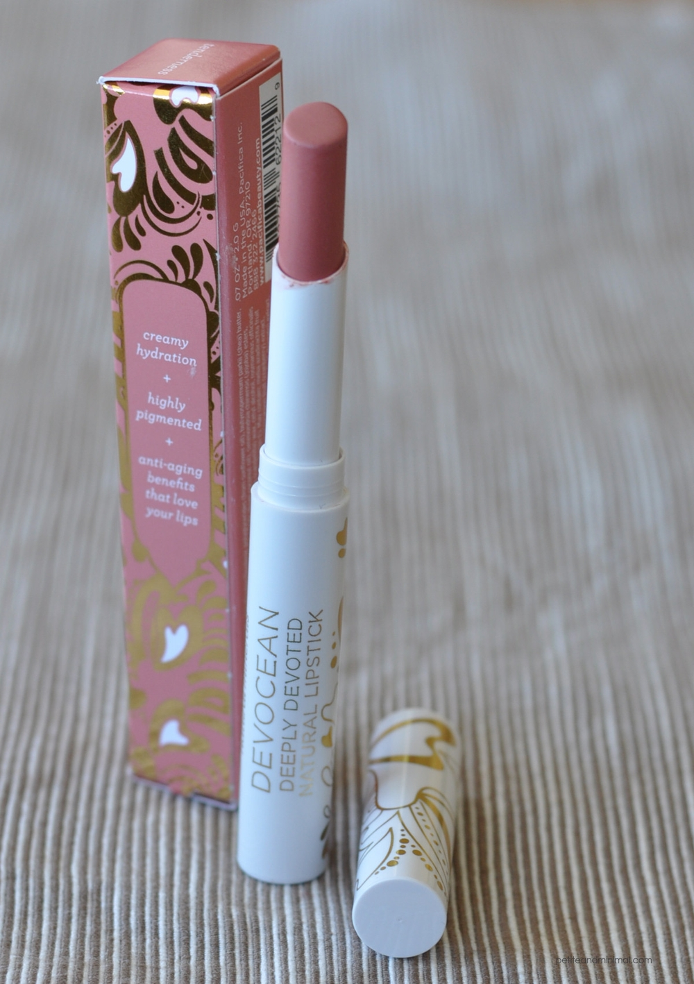 Pacifica Devocean Lipstick - Tenderness