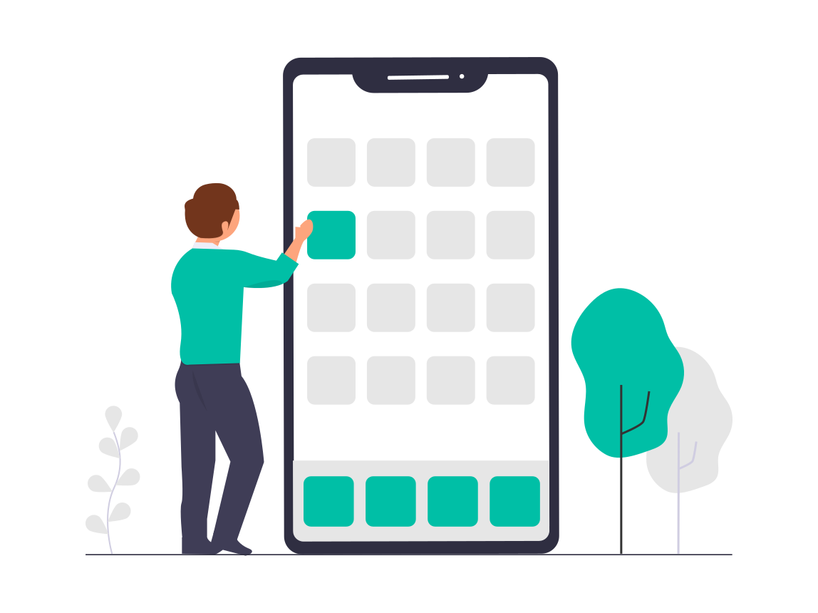 Illustration - app in MVP