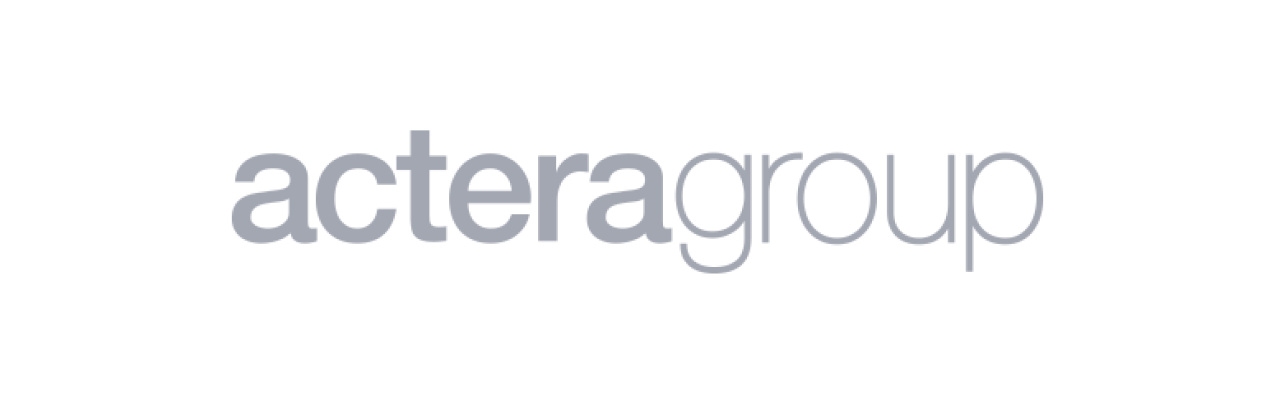 Technology & product due diligence | Code & Co. advises ACTERA GROUP (logo shown)