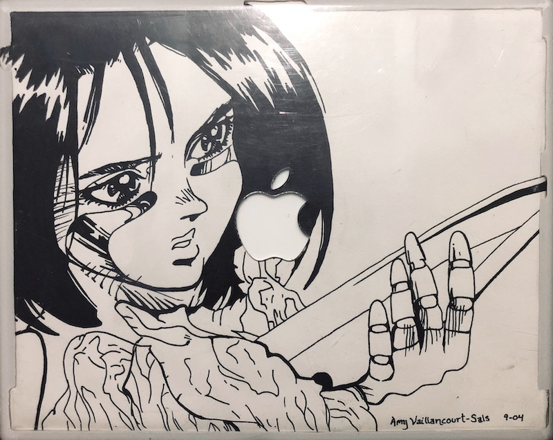 Alita as drawn by Amy