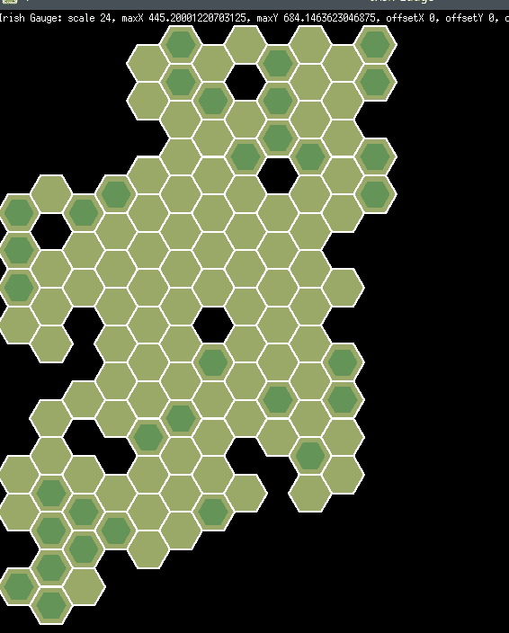 Map Drawing Layer 0 of terrain