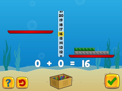 Express an even number as two equal addends Math Game