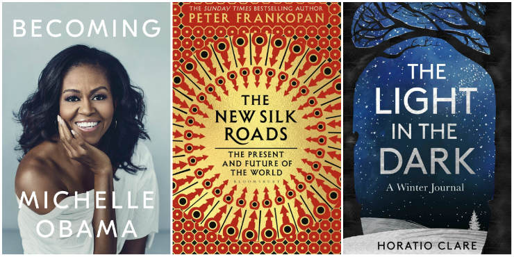 Becoming, The New Silk Roads, The Light in the Dark