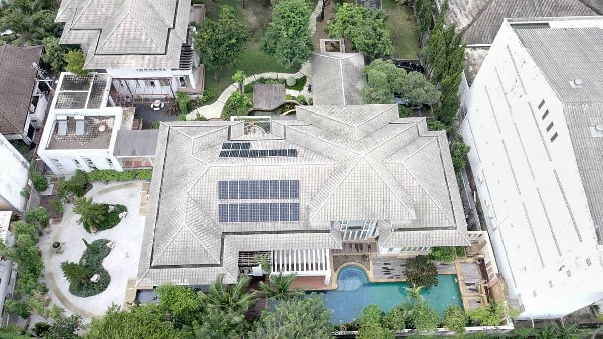 7KW Grid Tie Solar Panel System
