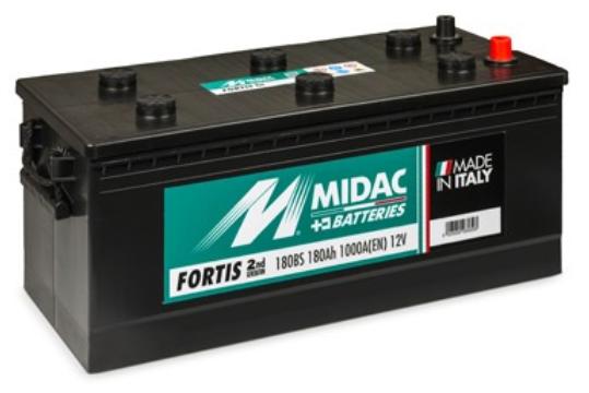 Autobaterie 180Ah - startovací baterie