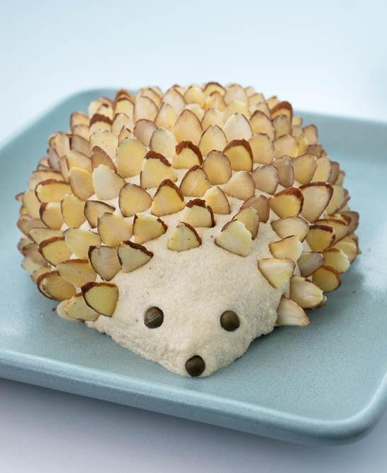Vegan Cheese Hedgehog