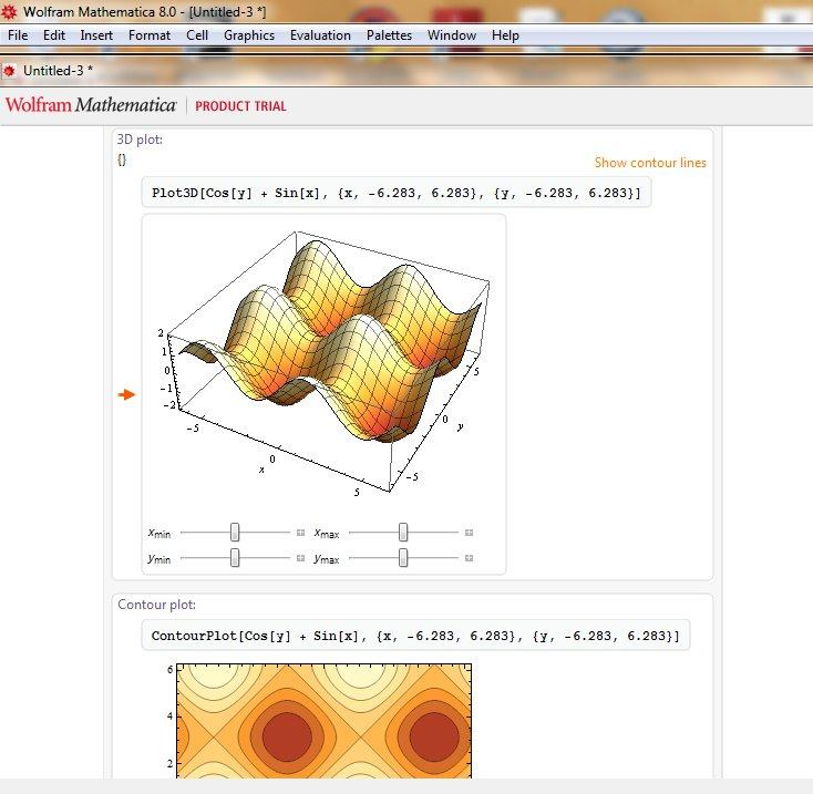 Mathematica Demo 2