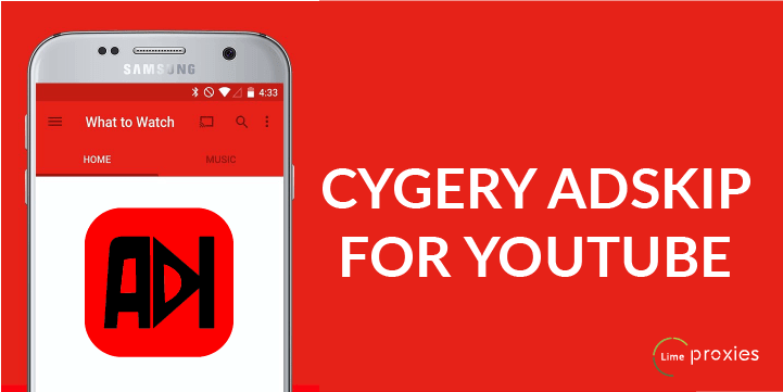 Best Ad blockers for Android - CYGERY ADSKIP FOR YOUTUBE