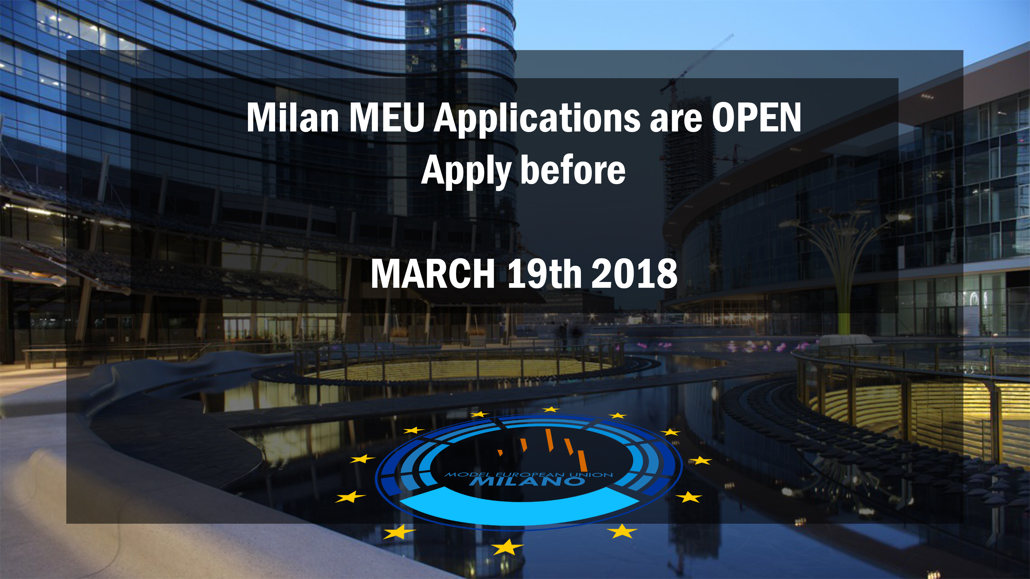 Milan MEU 2018 - Call for Participants