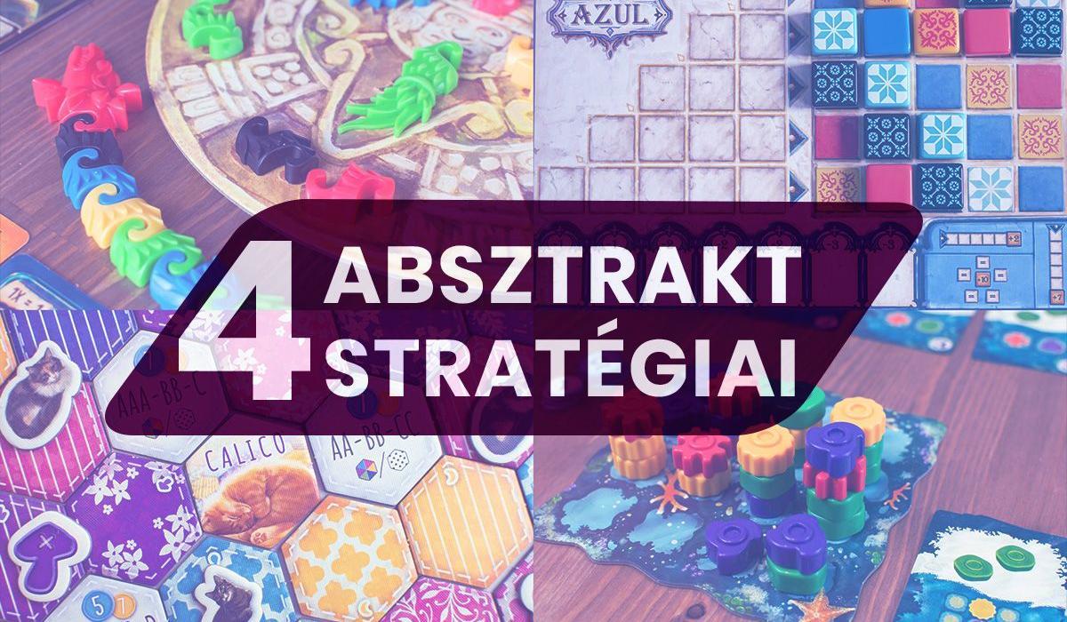 Azul és utódjai – 4 színes absztrakt stratégiai játék minden korosztálynak