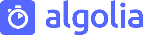 Powered by Algolia