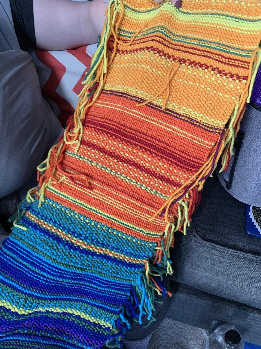 scarf from friend of twitter user @MarkBradbourne