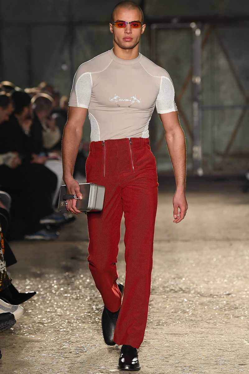 GmbH AW19 Eevan T-Shirt Beige White catwalk